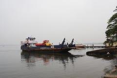 Prom (ferryboat) Zdjęcia Stock