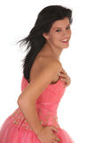 Prom Girl Stock Photo
