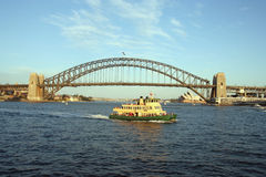 prom portu Sydney Zdjęcie Stock