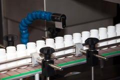 Promatic intermittent cartoner machine Royalty Free Stock Photo