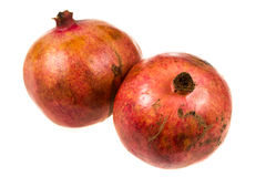 2 promegranates Стоковое Изображение RF