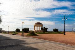 Promenad i Livorno Italien royaltyfri fotografi