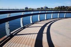 Promenad skugga av balustraden, Burlington fotografering för bildbyråer