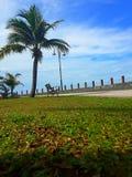 Promenad Tanjung Api, Kuantan Arkivfoton