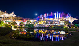 Promenada-Erholungsort-Mall von Chiang Mai, Thailand 2013 Lizenzfreies Stockbild