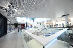 Promenada Shopping Center Bucharest stock photos