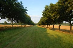 Promenade à l'althorp images libres de droits