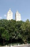 Promenade à New York Central Park Photo libre de droits