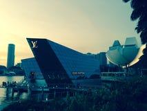 Promenade à Singapour, Asie Photographie stock