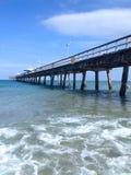Promenade über dem Ozean Lizenzfreie Stockfotografie