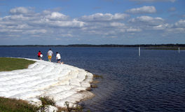 Promenade 2 de bord de lac Photographie stock libre de droits