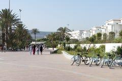 Promenade in Agadir Royalty Free Stock Photo