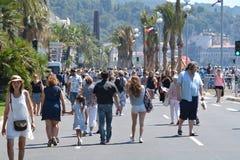 'promenade' agradable después del ataque del terrorismo fotos de archivo