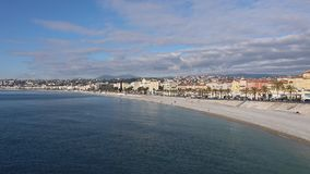 'promenade' agradable Francia almacen de video