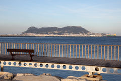 Promenade in Algeciras, Spain Stock Photo