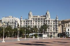Promenade in Alicante, Spain Royalty Free Stock Photos