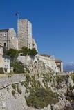 Promenade Amiral de Grass and Castle Grimaldi Stock Photos
