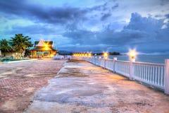 Promenade at Andaman Sea. In Thailand Royalty Free Stock Images