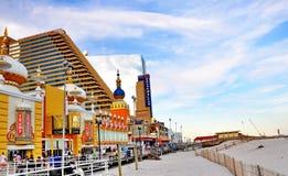 Promenade in Atlantic City, NJ Stock Foto