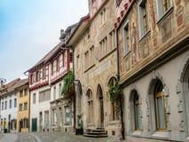 Promenade au centre de Stein Am Rhein - 1 Image stock