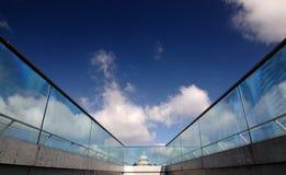Promenade au ciel photographie stock libre de droits