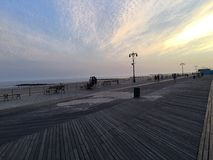 Promenade auf Brighton Beach Lizenzfreies Stockfoto