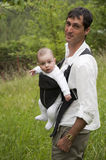 Promenade avec un enfant Images stock