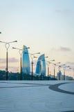 Promenade in Baku, Azerbaijan Stock Images