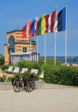 Promenade,Bansin,usedom island Stock Photo