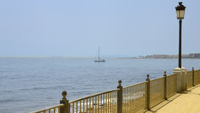 Promenade beach Royalty Free Stock Photo