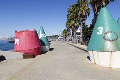 Promenade bei Geelong Lizenzfreie Stockfotografie