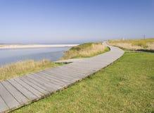 Promenade bij het strand Royalty-vrije Stock Afbeelding