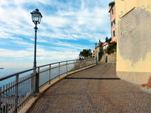 Promenade of Bogliasco Royalty Free Stock Image