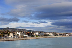 Promenade of Bray, Ireland Royalty Free Stock Photography