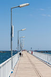 Promenade bridge Stock Photos