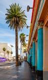 Promenade célèbre de Hollywood de la renommée image stock