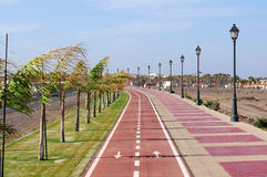 Promenade in Caleta de Fuste, Fuerteventura Royalty Free Stock Photo