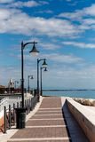 Promenade in Caorle Italy Royalty Free Stock Photo
