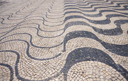 Promenade in Cascais, Portugal. Stock Image
