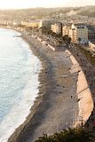 The Promenade at the City of Nice Stock Images