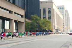Promenade Cleveland de coeur Photo stock