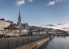 Promenade in Cobh Irland Lizenzfreies Stockfoto