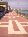 Promenade on the Costa Calida, Spain Royalty Free Stock Photography