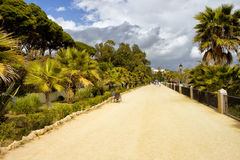 Promenade on Costa del Sol in Marbella Royalty Free Stock Photography