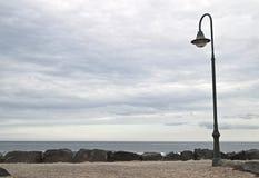 Promenade déprimée 1 de Lanzarote Image stock