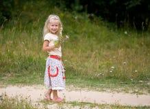 Promenade d'été Photos stock