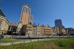 Promenade d'Atlantic City Image stock