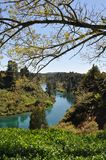 Promenade d'automnes de Huka Images stock