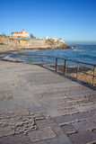 Promenade d'Estoril au Portugal Images stock