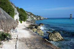 Promenade d'océan Photographie stock libre de droits